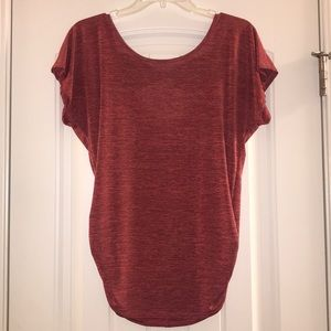 Tops - Dressy top with now in back